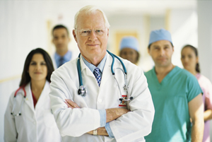 Medical Team --- Image by © Royalty-Free/Corbis